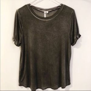 NWT CABLE & GAUGE FADED TEE SIZE LARGE
